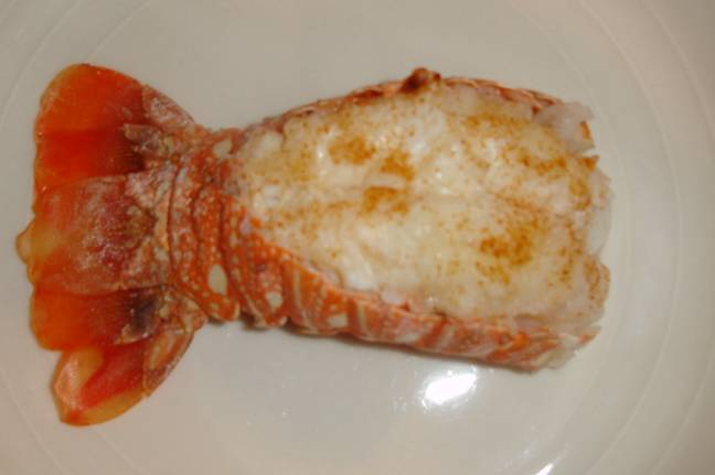 Cooked Lobster Tail