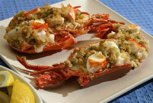 Stuffed Lobster Recipe - Learn How to Make Stuffed Lobster at ...